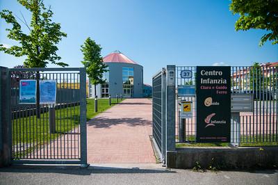 l'entrata del Centro Infanzia