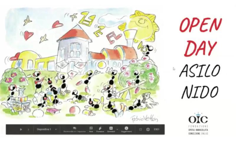 Presentazione Open Day Asilo Nido